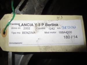 Cambio Lancia  Y del 2002 1242cc.   da autodemolizione
