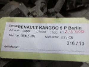 Cambio JB3960 7701700523 S  004546 Renault  Kangoo del 2000 1390cc.   da autodemolizione