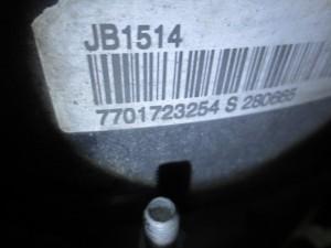 Cambio JB1514 770123254 S 280665 8200 089238  Da Renault  Clio del 2005 1150cc.  Usato da autodemolizione