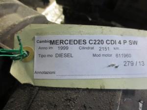 Cambio Mercedes-Benz  C 220 del 1999 2151cc. CDI  da autodemolizione