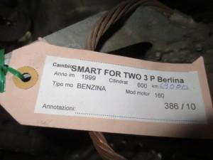Cambio Smart  Fortwo del 1999 600cc.   da autodemolizione