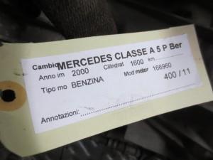 Cambio A1683602000 003567 16836020000035673101 R168361040 Mercedes-Benz  A 160 del 2000 1600cc.   da autodemolizione