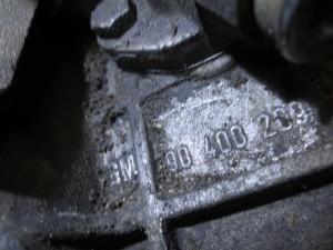 Cambio GM 90400209 7601 Opel  Astra del 2000 1598cc.   da autodemolizione