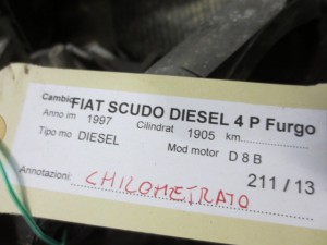 Cambio 20LE44 0223894 Da Fiat  Scudo del 1997 1905cc. TD Usato da autodemolizione