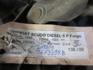 Cambio Da Fiat  Scudo del 1999 1999cc.  Usato da autodemolizione