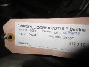 Cambio Opel  Corsa C del 2004 1248cc.   da autodemolizione