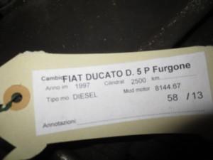 Cambio 9431285021 Fiat  Ducato del 1997 2500cc.   da autodemolizione