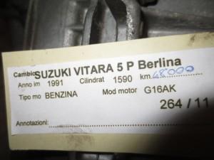Cambio Suzuki  Vitara del 1991 1590cc.   da autodemolizione