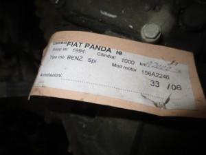 Cambio Fiat  Panda del 1994 1000cc.   da autodemolizione