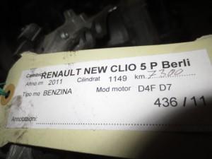 Cambio Renault  Clio del 2011 1149cc.   da autodemolizione