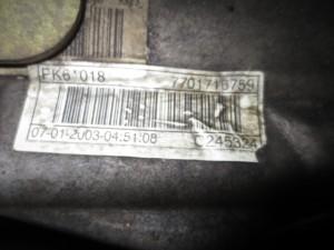 Cambio PK60187701716759 C245324 Renault  Laguna del 2003 1870cc. DCI  da autodemolizione