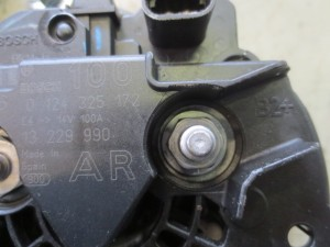 Alternatore bosch 0124325172 13229990 Opel  Zafira del 2008 1910cc. CDTi 16v.  da autodemolizione