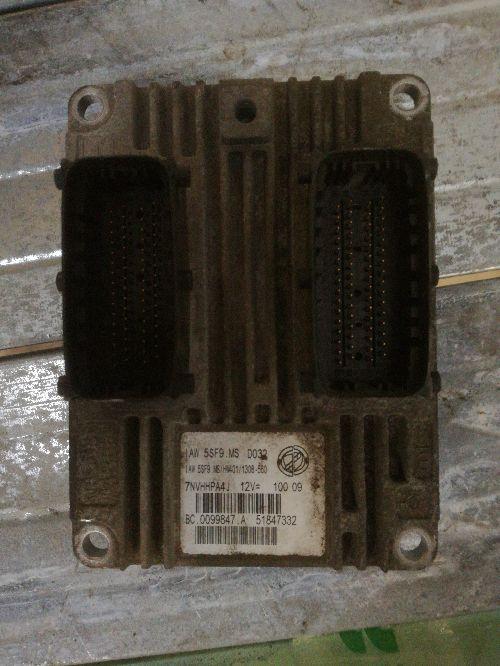 Centralina Motore Da Fiat  500 del 2009 1242cc.  Usata da autodemolizione