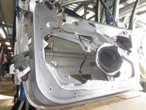 Portiera Anteriore Destra Peugeot  206 skyview  del 2003 da autodemolizione