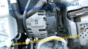 Alternatore VALEO 9665577780 CL8 TG9B064 Peugeot  206 del 2010 1124cc.   da autodemolizione