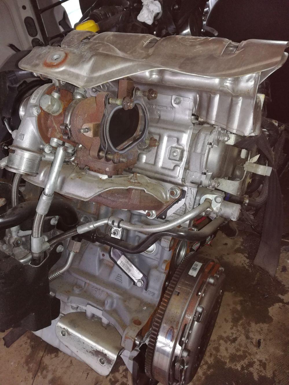 Motore 312a1000 Da Fiat  500 del 2015 1cc. 1.4 TURBO  Usato da autodemolizione