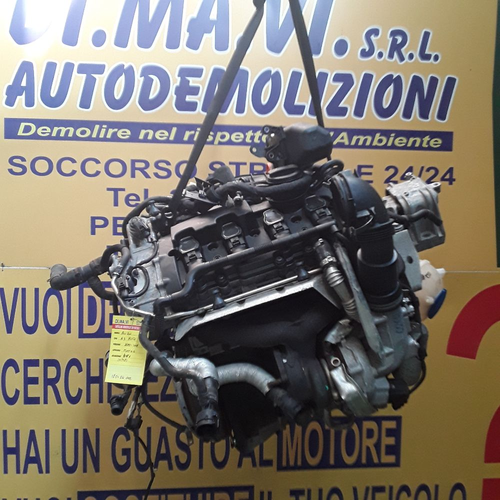 Motore Da Audi  A3 del 2004 1995cc.  Usato da autodemolizione