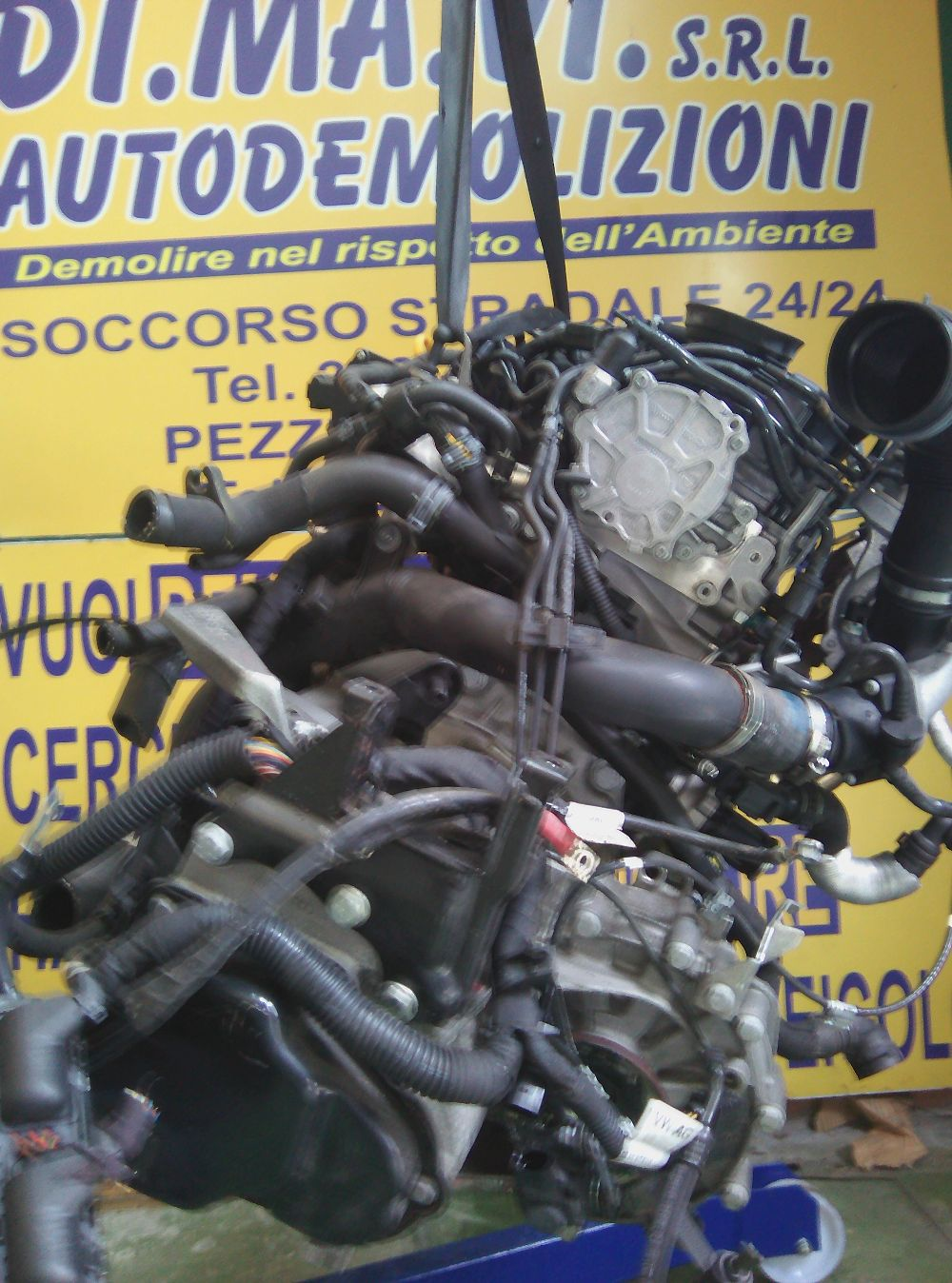 Motore Da Audi  A1 del 2014 1500cc.  Usato da autodemolizione