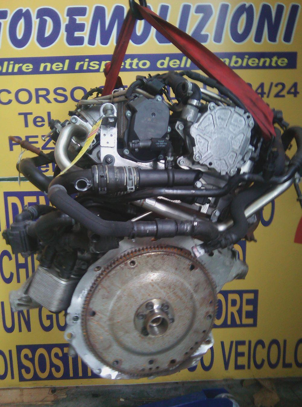 Motore Da Audi  A4 del 2010 1955cc.  Usato da autodemolizione