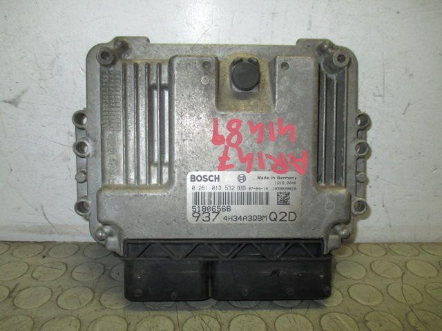 Centralina Motore 150625000022 Da Alfa Romeo  147 del 2008 1cc.  Usata da autodemolizione