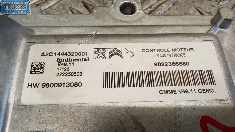 Centralina Motore NS. RIFERIMENTO 180423000076 Da Citroen  C3 del 2017 1199cc. C3 2016> Usata da autodemolizione