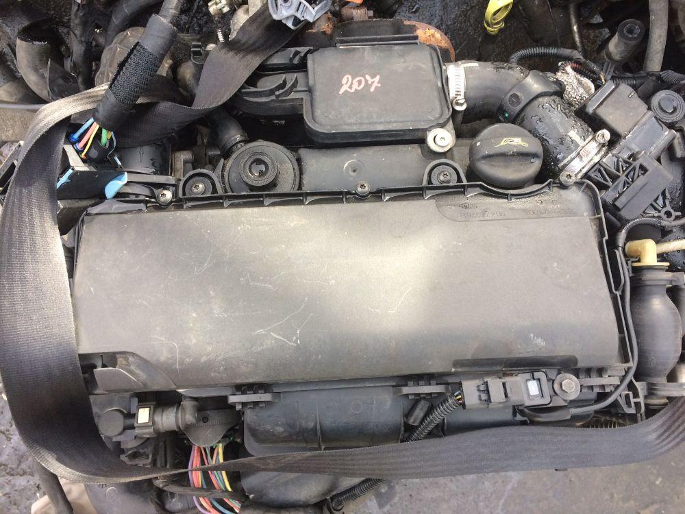 Motore Da Peugeot  207 del 2007 1400cc.  Usato da autodemolizione