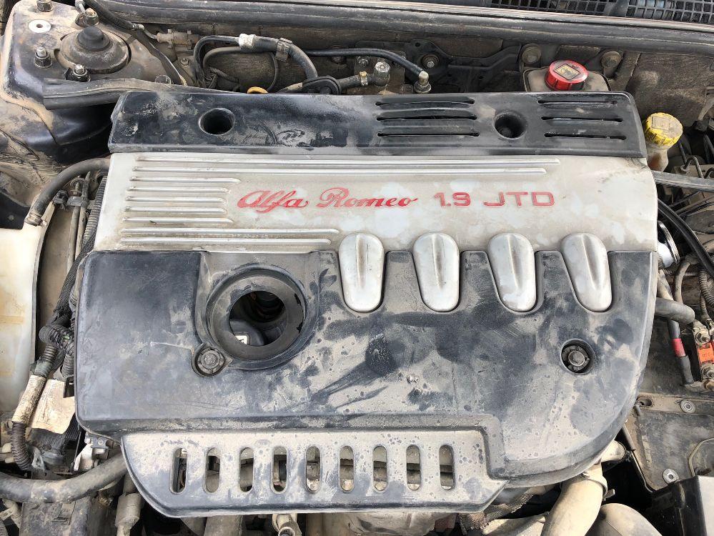 Motore Da Alfa Romeo  147 del 2002 1900cc. jtd Usato da autodemolizione