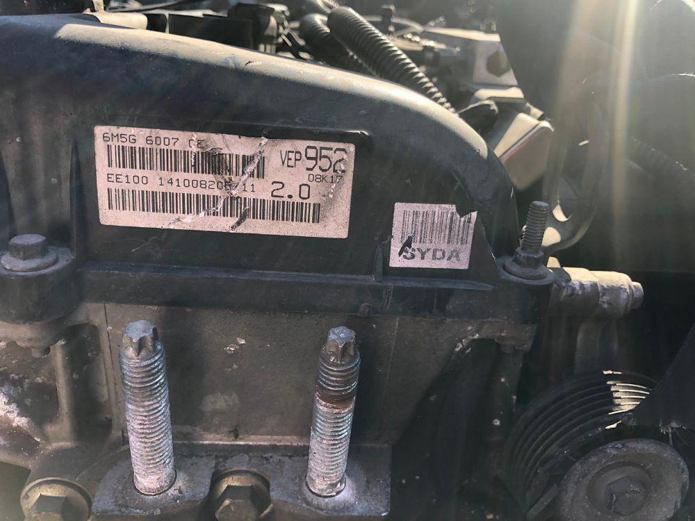Motore SYDA Da Ford  Focus C-Max del 2010 2cc. 2.0 16 V. Usato da autodemolizione