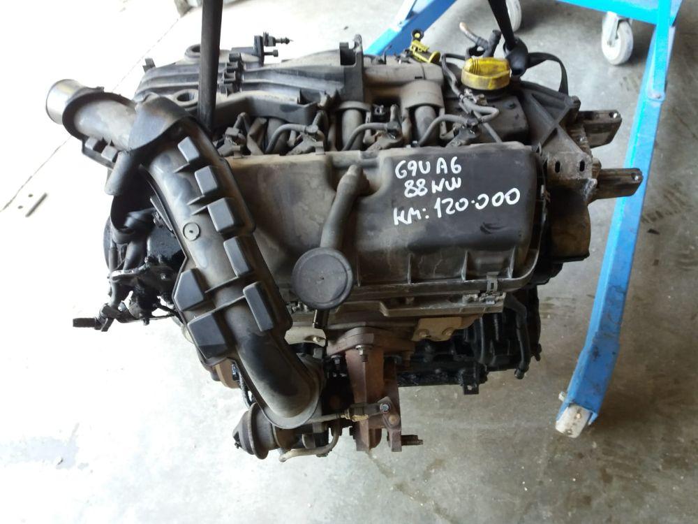 Motore G9UA6 Da Renault  Master del 2008 2500cc.  Usato da autodemolizione
