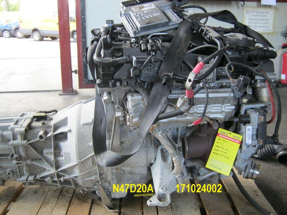 Motore N47D20C Da Bmw  X3 del 2014 2000cc.  Usato da autodemolizione