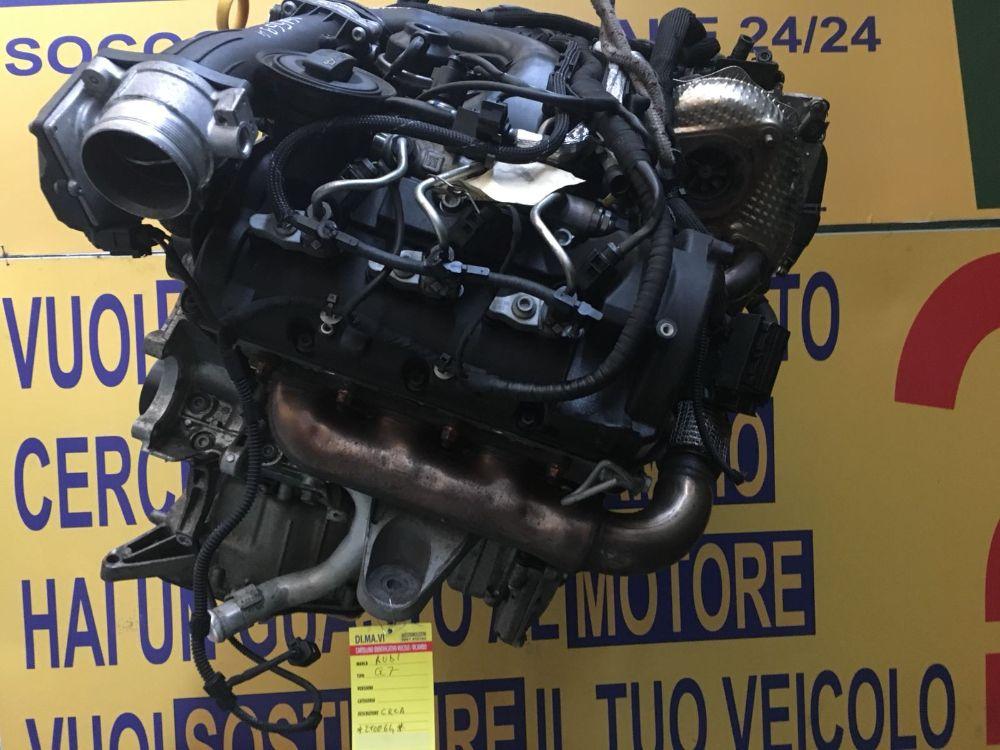 Motore CRC Da Audi  Q7 del 2012 3000cc. CRC Usato da autodemolizione