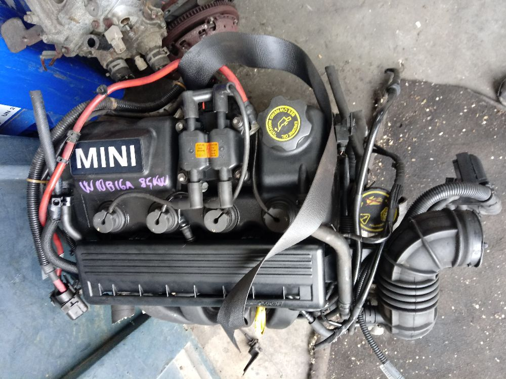 Motore motore mini cooper w10b16a 128000km Da Mini  Cooper del 2006 1600cc. mini cooper Usato da autodemolizione