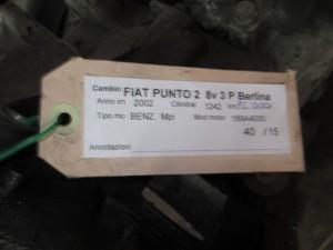 Cambio Fiat  Punto del 2002 1242cc.   da autodemolizione