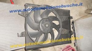 Ventola Radiatore Ford  Fusion del 2004 1399cc. TDCI  da autodemolizione