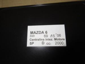 Centralina Motore Da Mazda  6 del 2006 2000cc.  Usata da autodemolizione