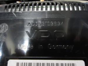 Quadro Strumenti 62119153755 VDO 110050213 Bmw  530 del 2007 2993cc. XD E61LI  da autodemolizione