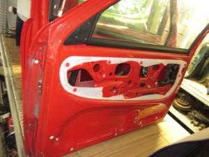 Portiera Anteriore Destra Fiat  Seicento  del 1999 da autodemolizione