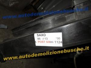 Ventola Radiatore Citroen  Saxo del 2000 1124cc.   da autodemolizione