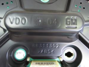 Quadro Strumenti Opel  Meriva del 2005 1364cc.   da autodemolizione