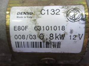 Motorino Avviamento Fiat  Punto del 2003 1242cc.   da autodemolizione