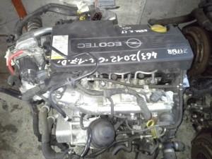 Motore Z17DTR Da Opel  Astra H del 2006 1700cc.  Usato da autodemolizione