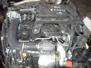 Motore 8HR Peugeot  207 del 2011 1400cc.   da autodemolizione