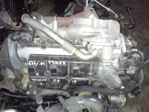 Motore F9QK8 Da Renault  Megane del 2008 1900cc.  Usato da autodemolizione