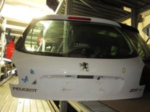 Portellone Peugeot  206  del 2010 da autodemolizione