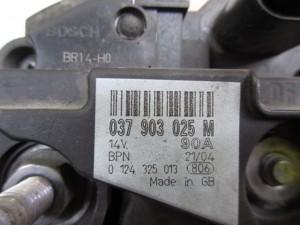 Alternatore bosch 037903025 Volkswagen  Polo del 2004 1400cc.   da autodemolizione