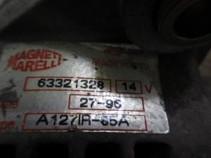 Alternatore Fiat  Bravo del 1996 1581cc.   da autodemolizione