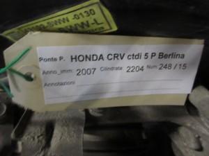 Ponte Posteriore Mercedes-Benz  C 270 del 2001 2685cc.   da autodemolizione