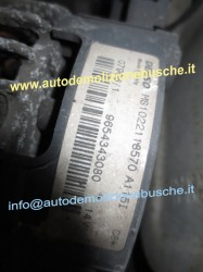 Alternatore denso MS1022118570A115I  Citroen  C2 del 2006 1587cc. VTS  da autodemolizione