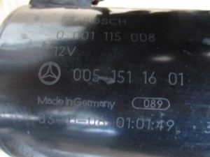 Motorino Avviamento bosch 0001115008 Mercedes-Benz  A 170 del 2004 1689cc. CDI  da autodemolizione