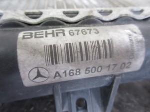 Radiatore Acqua Mercedes-Benz  A 170 del 2004 1689cc. CDI  da autodemolizione